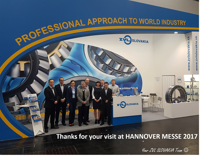 Thanks for your visit at Hannover Messe 2017